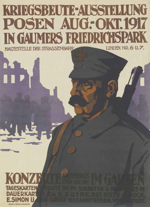 Artist Unknown Exhibition of War Booty in Posen 1917