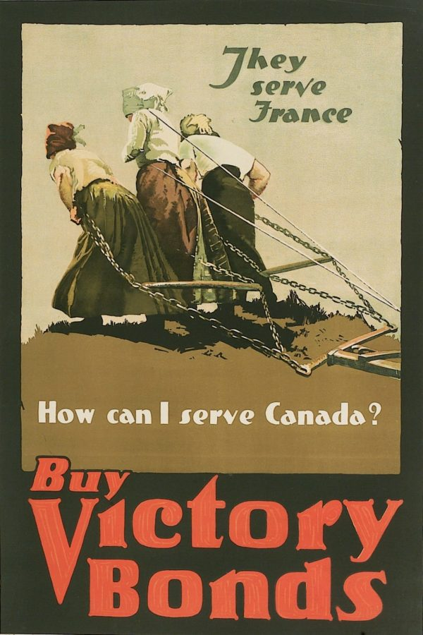 Artist Unknown They Serve France - How Can I Serve Canada