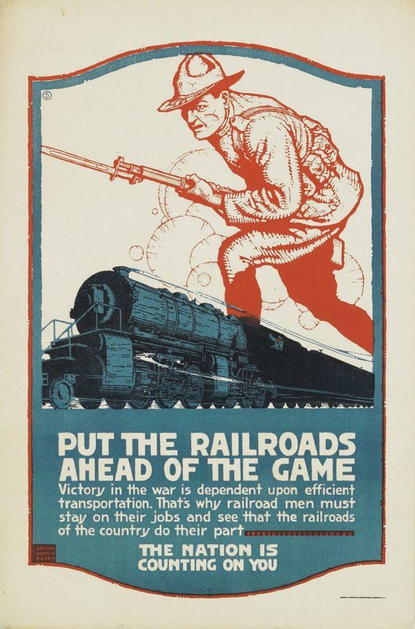 Baker, Ernst Hamlin Put the Railroads Ahead of the Game
