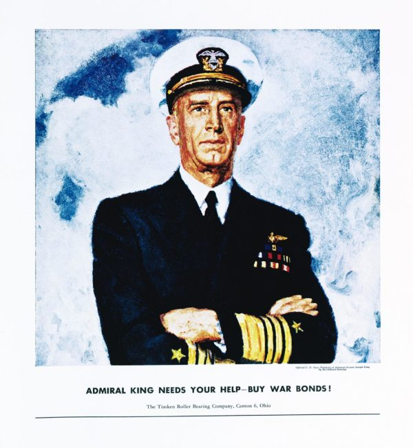 Barclay, McClelland Admiral King Needs Your Help 1943