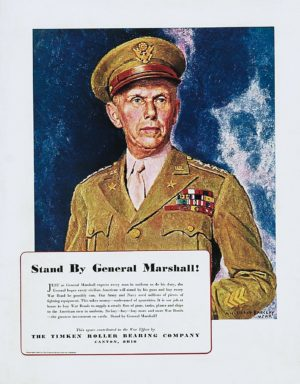 Barclay, McClelland Stand by General Marshall 1943
