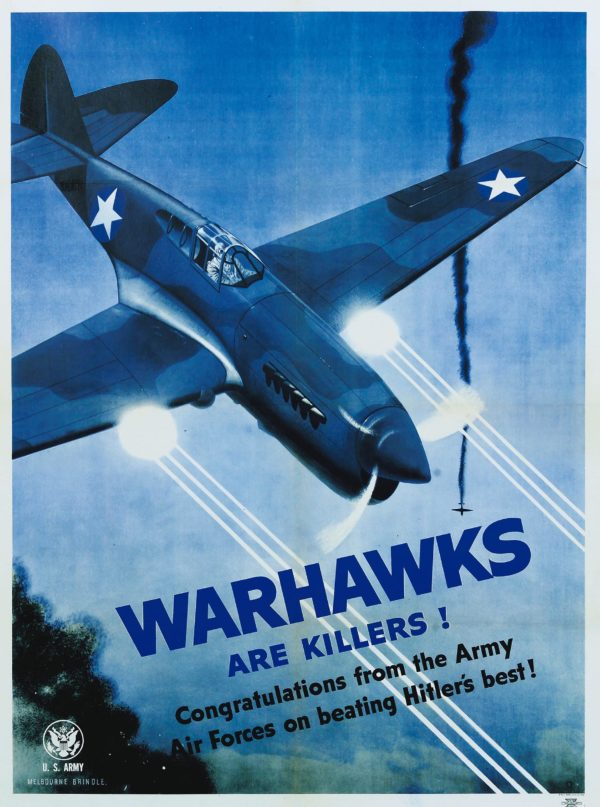 Brindle Warhawks Are Killers! 1943
