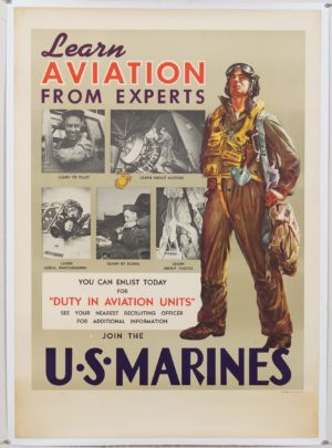 Brinkman Learn Aviation from Experts U.S. Marines 1946