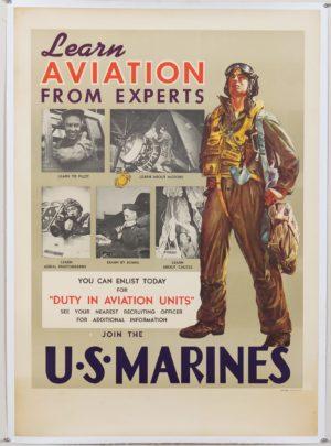 Brinkman Learn Aviation from Experts U.S. Marines 1946