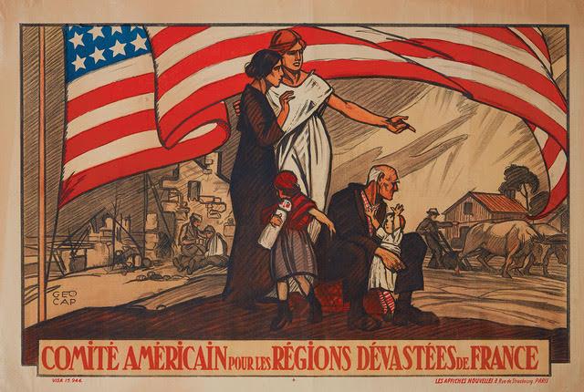 Comite Americain pour les Regions Devastees de France-Poster-1