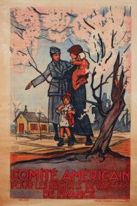 Comite Americain pour les Regions Devastees de France-Poster-2