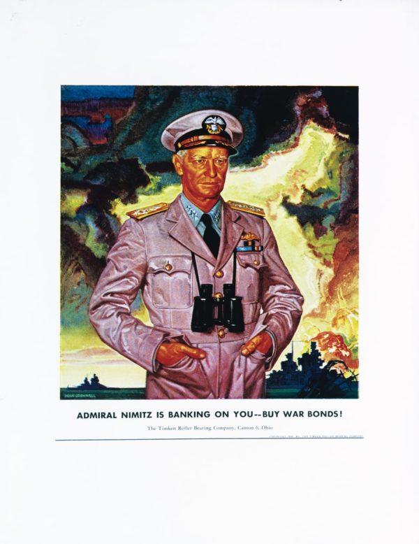 Cornwell, Dean Admiral Nimitz Is Banking on You 1944