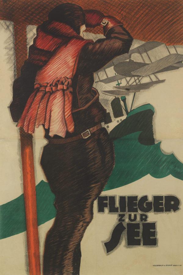 Erdt, Hans Rudi Fliers over the Sea 1915