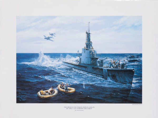 Freeman-The-Rescue-of-Ensign-John-R.-Galvin-by-USS-Harder