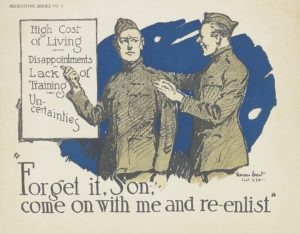 Grant, Gordon Forget It, Son Come with Me and Re-enlist