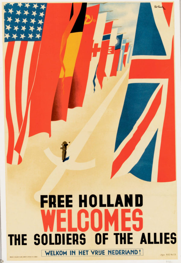 Keely, Pat Free Holland Welcomes the Allies 1944