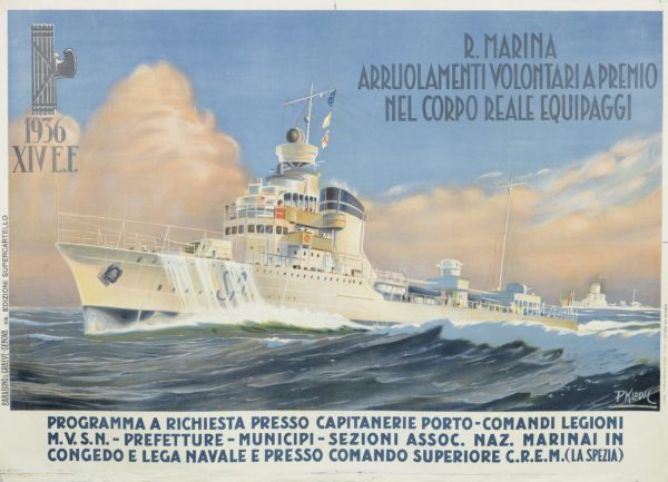 Klodil, P. Volunteer for the Royal Navy 1936