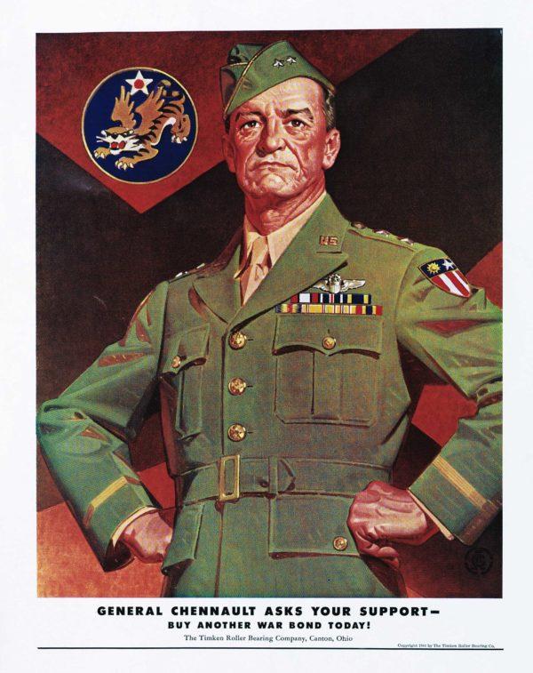 Leyendecker, Joseph General Claire Chennault 1944