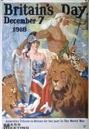 Moore-Park Britains Day Dec. 7 1918