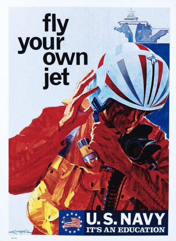 Nolan Fly Your Own Jet U.S. Navy