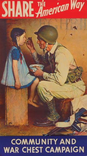 Rockwell Share the American Way 1944