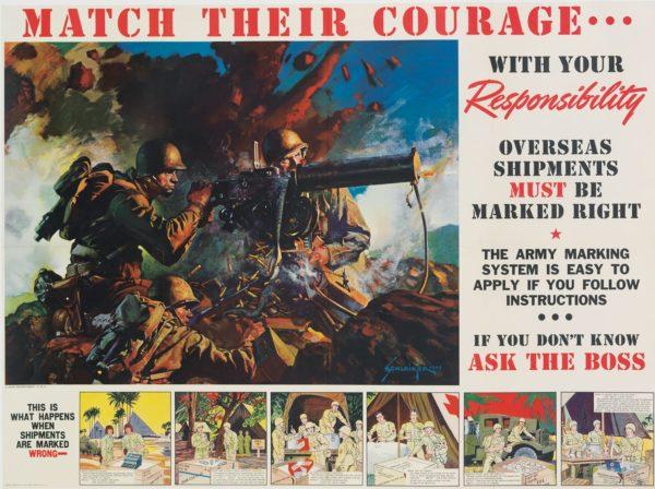 Schlaikjer, Jes Match Their Courage 1943