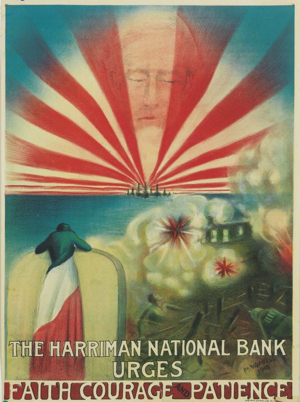 Waddel The Harriman National Bank Urges Faith 1918