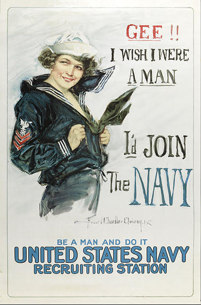 Howard Chandler Christy Gee I Wish I Were a Man 1918