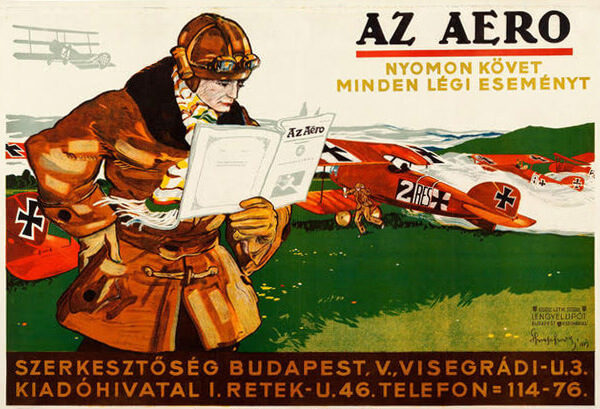 Imre Spiegel AZ Aero Magazine 1917